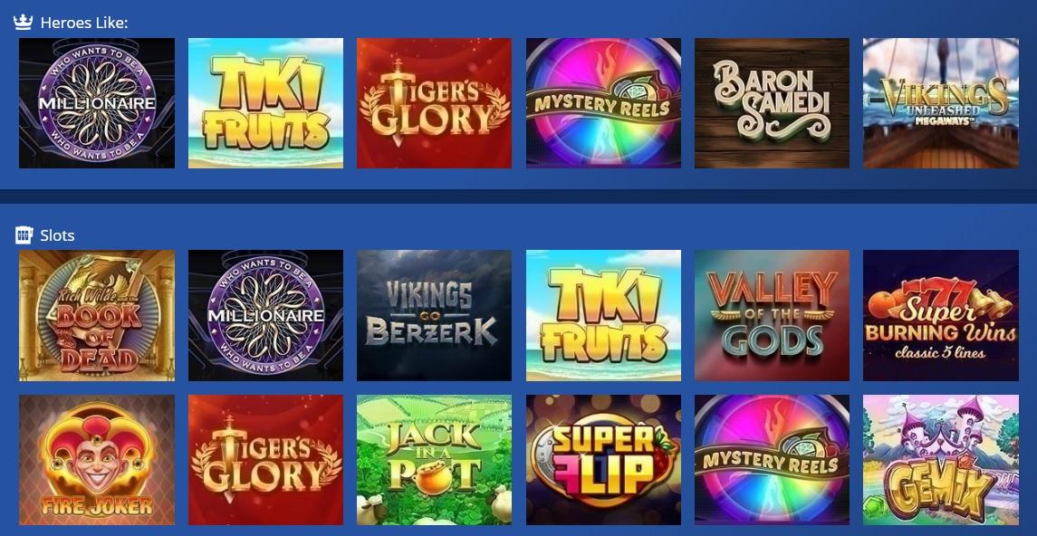 casino heroes žaidimai kazino karalius
