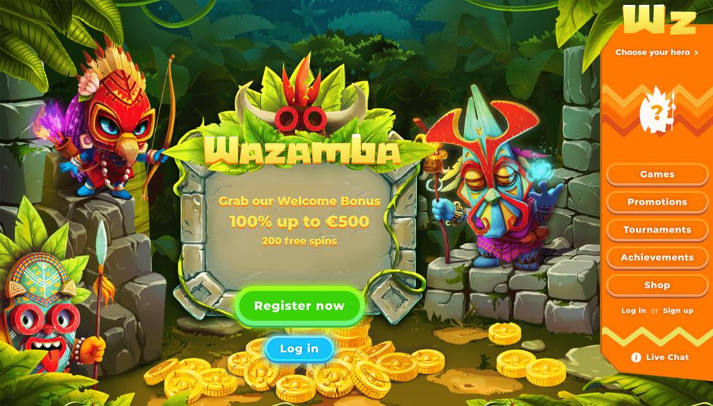 wazamba kazino