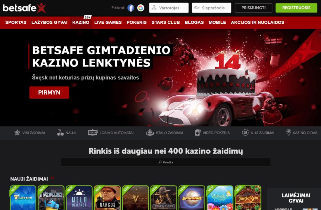 betsafe kazino