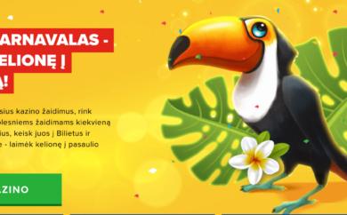 Optibet laimėk kelionę į Braziliją