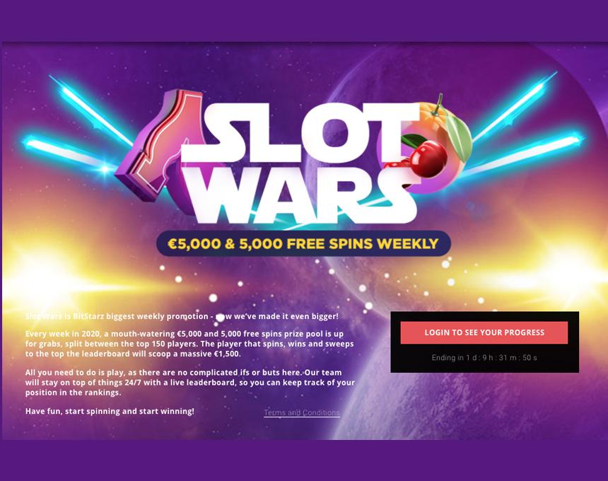 Slotwars premija Bitstarz