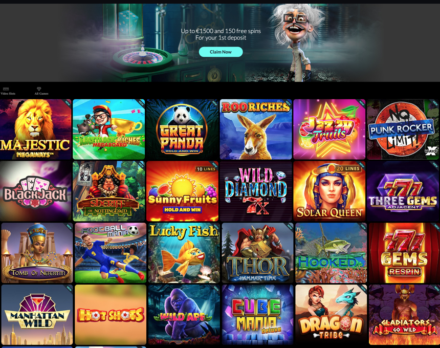 Spin Madness kazino apžvalga
